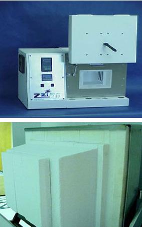 Door configuration andconstruction in the Zircar Zirconia Hotspot 110 Laboratory furnace.