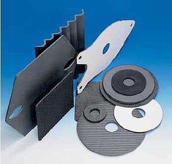 HALSIC silicon carbide batts and plate setters.