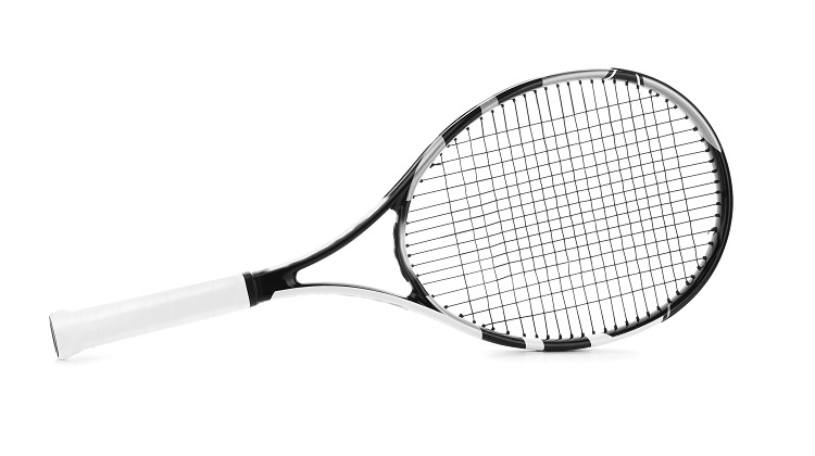Homopolymer can be used in ssport equipment such as tennis racquet handles Image Credit: Africa Studio/ShutterStock