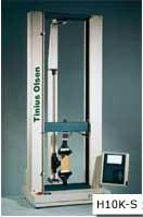 The Tinius Olsen H10K-S universal testing machine.