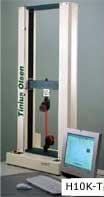 The Tinius Olsen H10K-T universal testing machine.