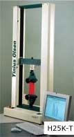 The Tinius Olsen H25K-T universal testing machine.