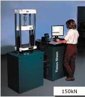 """The 150kN Super """"L"""" hydraulic materials testing machine."""