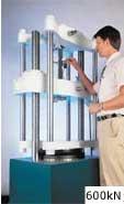 """The 600kN Super """"L"""" hydraulic materials testing machine."""