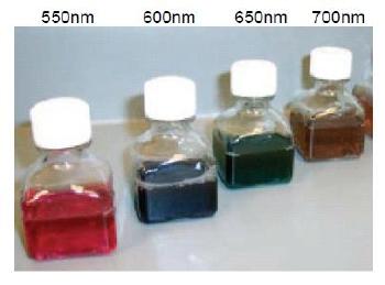 Gold Nanorod kits.
