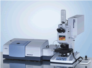 TENSOR 27 FT-IR Spectrometer with HYPERION 3000 FT-IR Microscope.