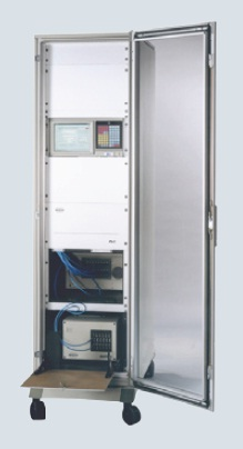 MATRIX-F individually enclosed modules designed to easily fit into standard 19-inch racks and enclosures. The spectrometer for this experiment was housed in an environmental enclosure 100 m from the sample point along with a touch-screen computer. The results are transmitted to the Process Control system via a 4-20 mA interface and the water content is controlled by a closed loop based on the NIR result. Bruker Optics is constantly improving its products and reserves the right to change specifications without notice.