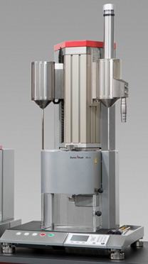 Zwick's Aflow extrusion plastometer for high throughput environments.