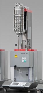 Zwick's Mflow extrusion plastometer with modular design elements to facilitate upgrades and retrofits.