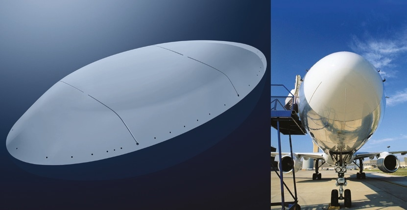 Low Dielectric Composites for Radomes and Antennas