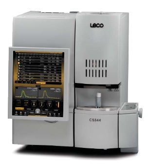 CS844 Elemental Analyzer.