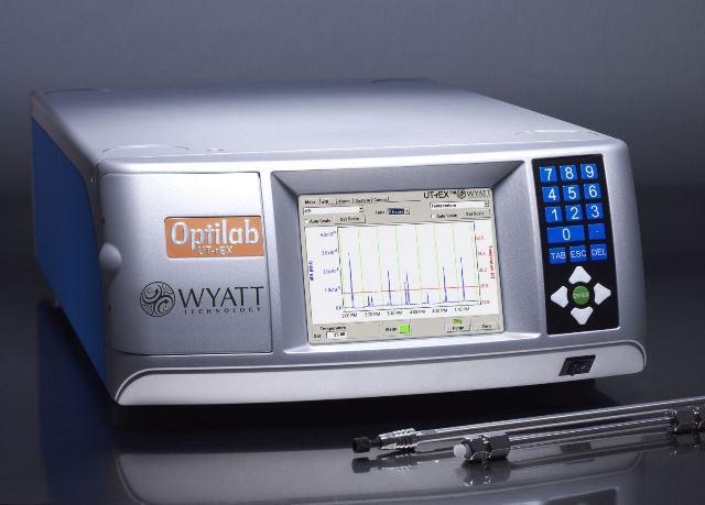 Optilab UT-rEX Refractive Index Detector by Wyatt.