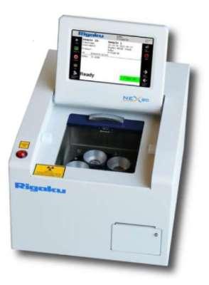 The Rigaku NEX QC+ EDXRF Analyzer