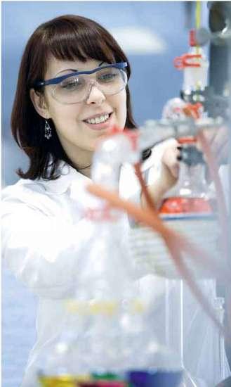 Chemical analysis lab at H.C. Starck
