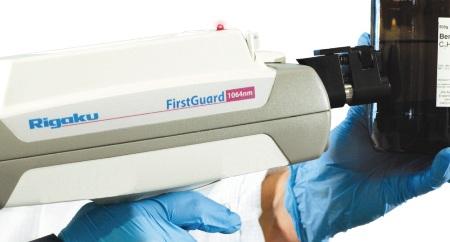 FirstGuard™ handheld Raman analyzer