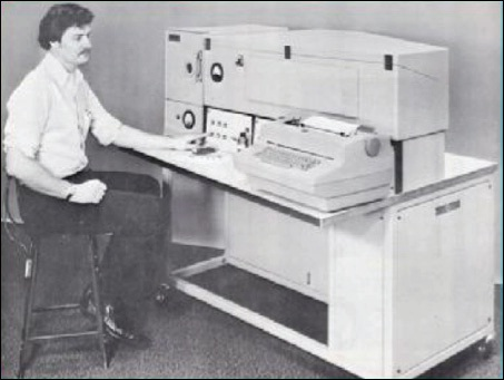 A Direct Reading Oil Analysis Spectrometer from the 1970s