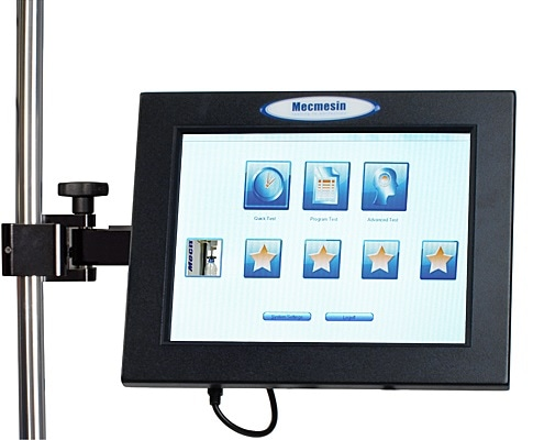 Mecmesin top load tester – Ease of use.