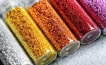 Characterization of Physically Modified Glass Beads