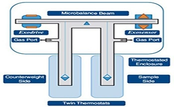 Measuring the Sorption of Hydrogen, Methane and Sulfur Dioxide using the XEMIS Microbalance