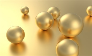 Spherical Gold Nanoparticles of Wavelength 30 - 90 nm