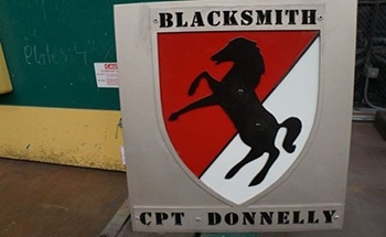 US Army's Legendary Blackhorse Regiment Expedites Work Requests with Jet Edge Precision Waterjet Cutting System