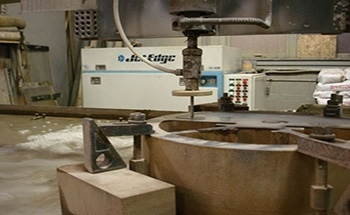 Quick Turnaround Time with Jet Edge Abrasive Waterjet System