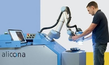 Combining Collaborative Robots with Optical Metrology – Alicona Cobots