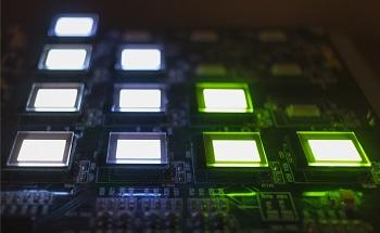 XPS Depth Profile of OLED Thin-Film