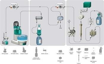 Automatic Calibration of Analytes Using a Combination of Inline Dilution and Subsequent Inline Ultrafiltration