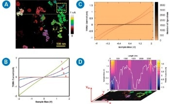 AFM Nanoelectrical Modes for Hyperspectral Mapping