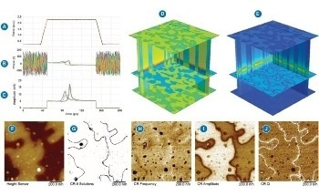Case Studies of DataCube Scanning Microwave Impedance and Piezoforce Microscopy