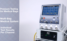 Reliable Leak Detection for Medical Devices and Production Components