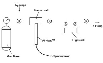 Raman Measurement of Gases