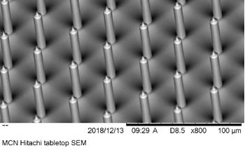 Plasma Processing for Fabrication of Porous Silicon Nanoneedles