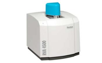 Rapid Visco Analyser (RVA) for Unmodified Dent Corn Starches