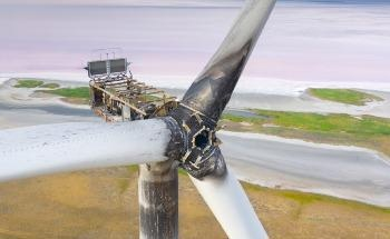 Lightning Protection Technology for Increased Thermoplastic Wind Turbine Safety