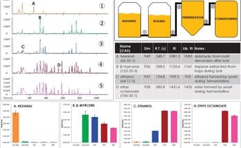 Process Monitoring of a Brewery with GC-MS