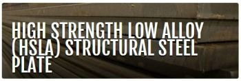 Ductile and High-Strength Low Alloy (HSLA) Steel Plates