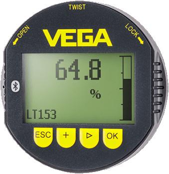 Universal Display and Adjustment Module for Level Measurement Sensors