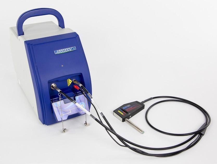 Portable Raman Fiber Spectrometer: i-Raman EX
