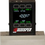 Low Pressure Drop Mass Flow Meters and Controllers -The Whisper Series from Alicat