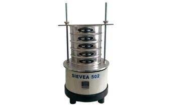 SIEVEA 502: Electromagnetic Vibratory Sieve Shaker for Laboratory Sieving