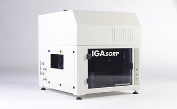 Dynamic Vapor Sorption Analysis at High Temperatures - the IGAsorp-XT