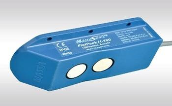 Measuring Uneven Bulk Materials or Liquids with the Flatpack® 95 kHz