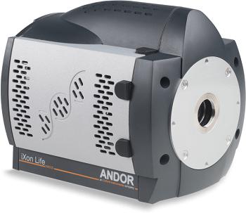 iXon Life EMCCD Camera for Fluorescence Microscopy