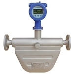 Measuring Mass Flow Rate, Volume and Temperature with the FMC 5000 Coriolis Mass Flow Meter