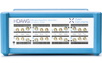 Speeding up Measurements in Spectroscopy Applications with the HDAWG Arbitrary Waveform Generator