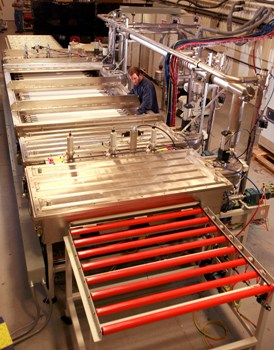 Inline Deposition Systems - Large Scale Turnkey Thin Film Production from Dynavac