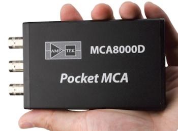 MCA8000D Pocket Multichannel Analyzer from AmpTek
