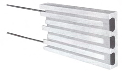 High Temperature Ceramic Cast Plate Electric Heaters from Thermcraft
